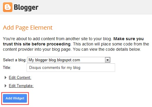 add disqus comments to the blogger blog