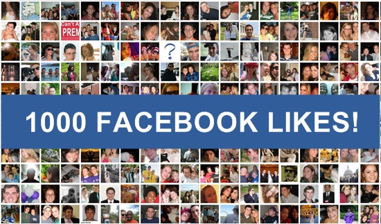 How to Get 1000 Likes to Your Facebook Fan Page