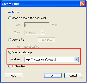 open your pdf link in web page