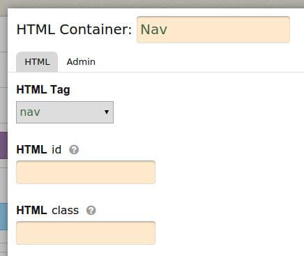 New container named Nav